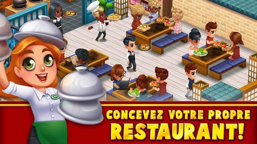 Food Street - Jeu de Restaurant  captures d'écran 1