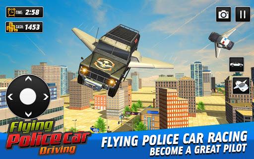 Flying Police Car Driving: Real Police Car Racing 1.0.1 screenshots 1