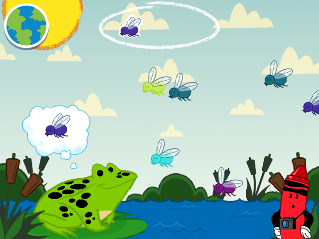 Crayola Colorful Creatures- screenshot