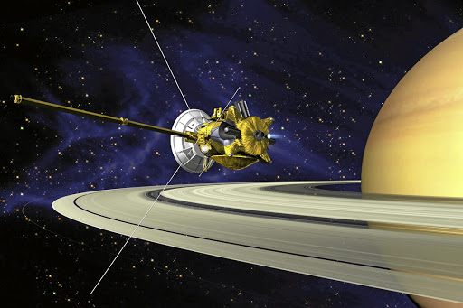 Grand finale:  Veteran spacecraft,   was launched back in 1997 to study Saturn and its moons. The mission came to an abrupt end on Friday.    Nasa
