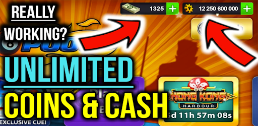 Cheats 8 Ball Pool Unlimited Coins and Cash -prank for PC