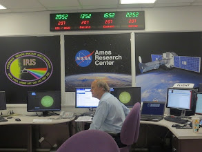 Photo: The IRIS Control Center, or the Interface Region Imaging Spectrograph now studying the sun