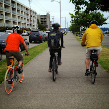 Photo: Note the color coordination on the Trek District.