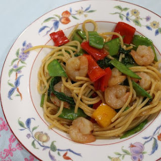Spicy Shrimp Stir Fry