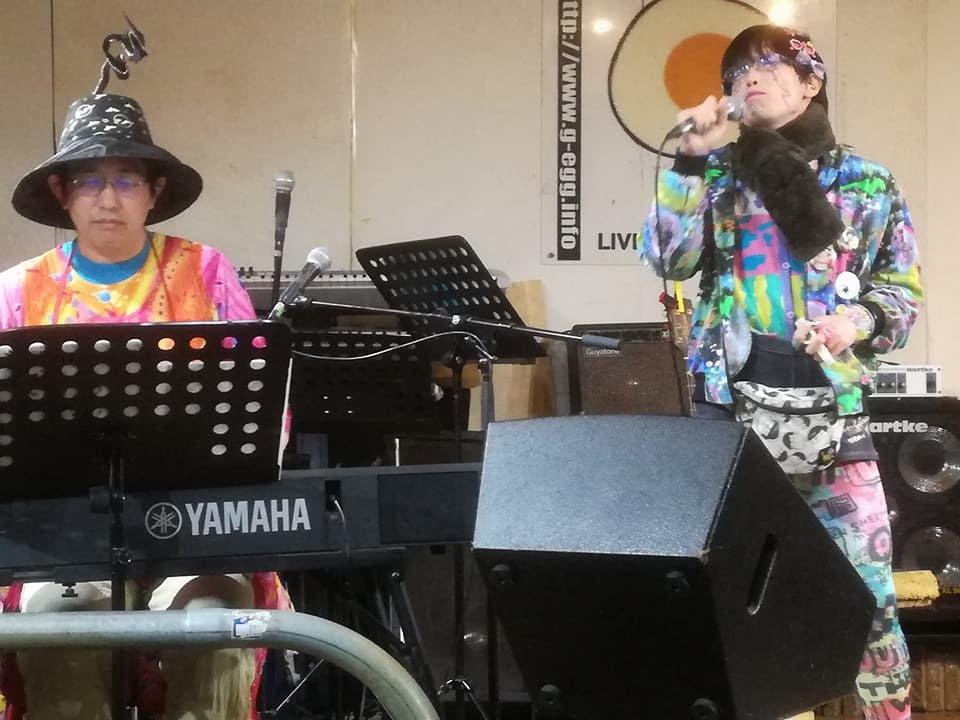 「たすひで」(TASKE + Hinden-san) 昼夜ぶっ通し10時間 !! [歌舞伎町の詩人達の集い その56 -TASKE生誕43周年記念SPECIAL-] 2017/12/16 Sat
