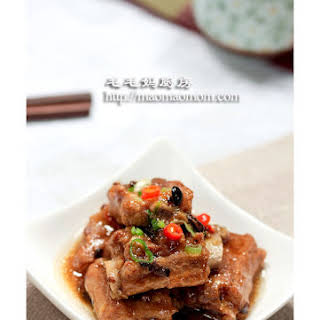 Steamed Ribs In Garlic And Black Soy Bean Sauce.