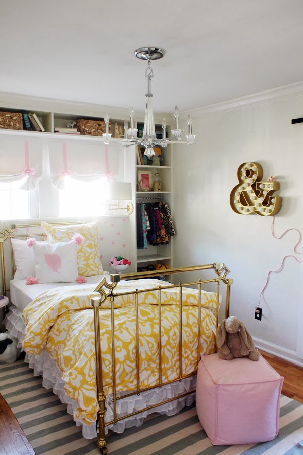 it is so fun with a perfect mixture of patterns textures and colors and of course we absolutely love how our montgomery yellow duvet set looks - Yellow Canopy Interior