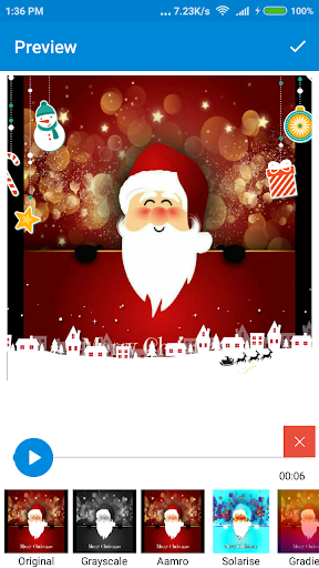 Christmas Photo Video Maker 2018 1.0 screenshots 7