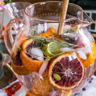Rosemary Citrus Detox Water.