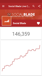 Live Sub Count - Social Blade- screenshot thumbnail