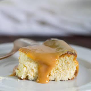 Creamy and Delicious Dulche de Leche Cheesecake.