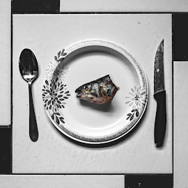 Revenge by Irvin Kelly - Food & Drink Plated Food ( fish, dark, food )