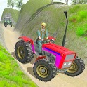 Real Tractor Trolley  Offroad Cargo 3d Game icon