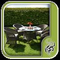 Wicker Garden Furniture Design icon