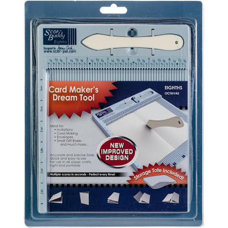 Scor-Buddy Eighths Mini Scoring Board 9x7.5 - Imperial