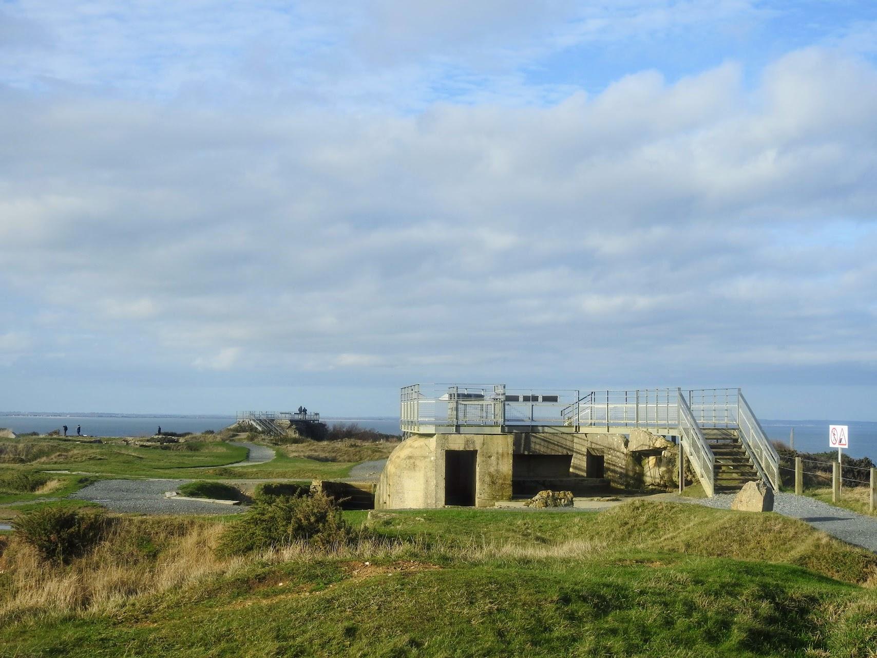 Desembarco de Normandía. Pointe du Hoc