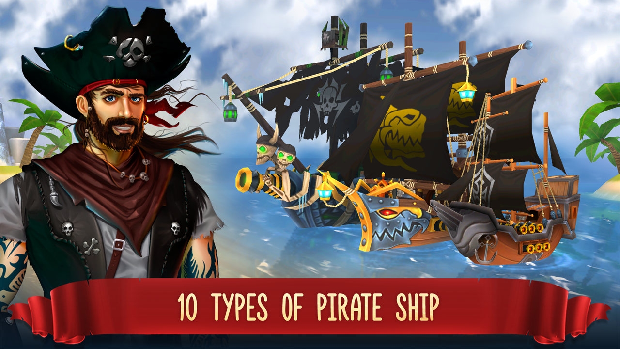 Pirate Battles: Corsairs Bay- screenshot