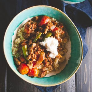 20 minute Italian turkey sausage and vegetable couscous bowls