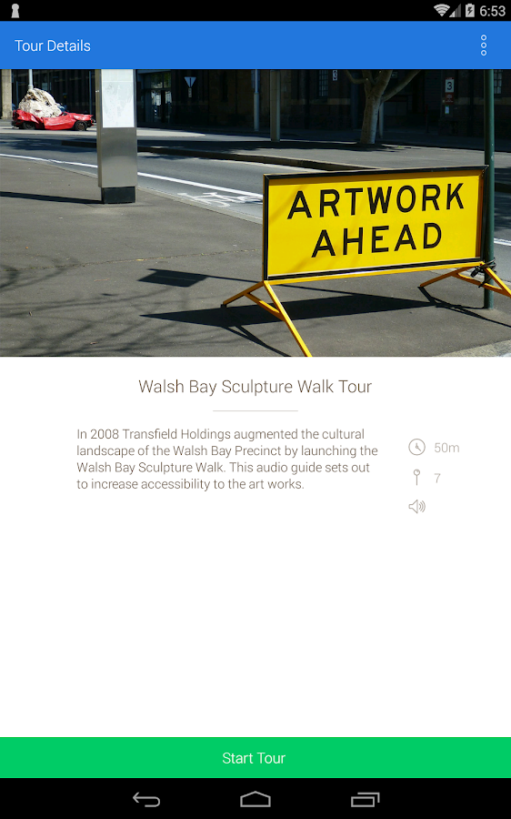 Walsh Bay Sculpture Walk- screenshot
