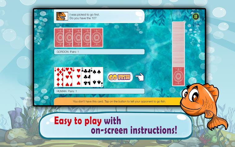 Go Fish: Kids Card Game (Free) Screenshot