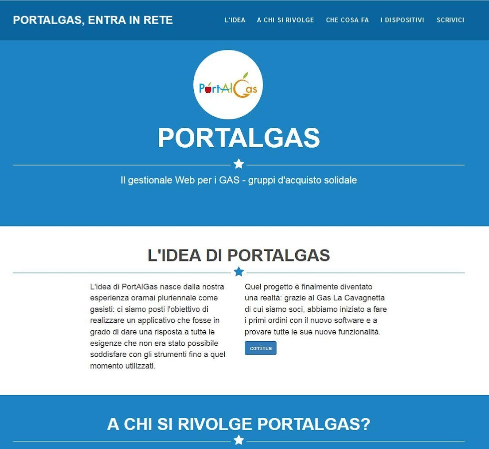 PortAlGas- screenshot