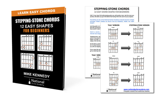 14 Easy Guitar Chords For Beginners