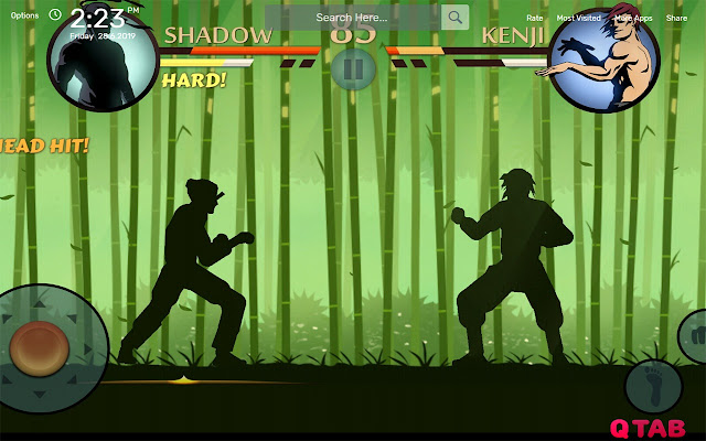 Shadow Fight 2 Wallpapers HD Theme