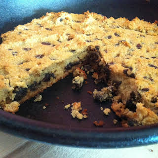 Chocolate Chip Skillet Cookie.