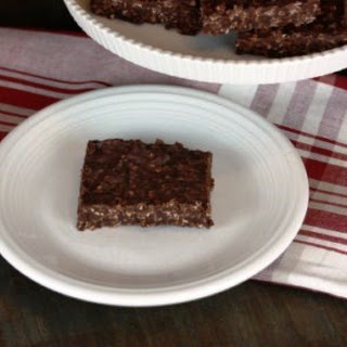 Double Chocolate No Bake Cookie Bars