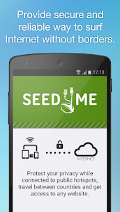 Free VPN Proxy by Seed4.Me App Download For Android and iPhone 5