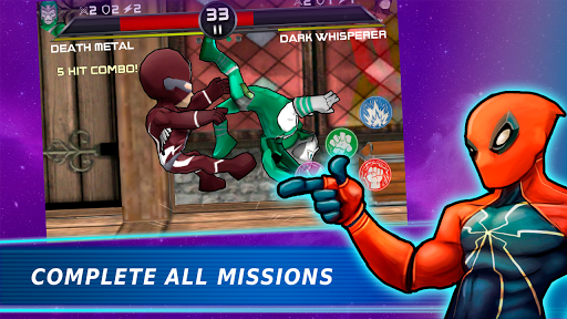 Superheroes Vs Villains 3 - Free Fighting Game  screenshots 8