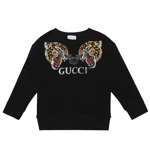 Primary image of Gucci Leopard & Logo Sweatshirt