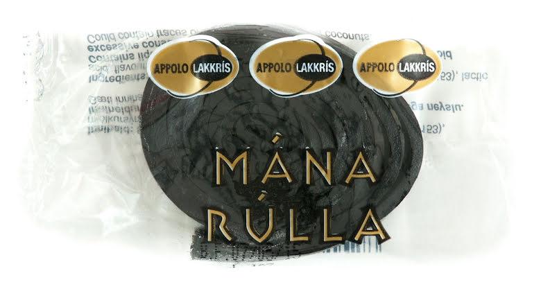 Mánarullur saltlakrits rulle - Appolo - Lakkris