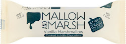 Mallow and Marsh Vanilla Marshmallow Coated in Milk Chocolate - 35g