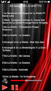 All Songs DE LA GHETTO - náhled