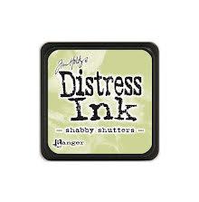 Tim Holtz Distress Mini Ink Pad - Shabby Shutters