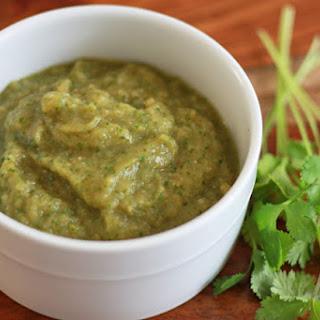 Chile Verde Sauce.