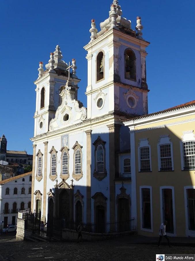 O que fazer em Salvador (Bahia) - Igreja Nossa senhora do Rosário dos Pretos