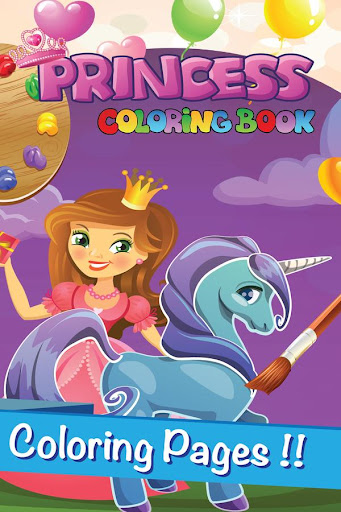 Little Pony Coloring Book Page