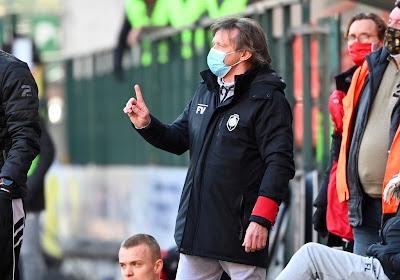 """Franky Vercauteren mitigé après le partage au Standard : """"Nous aurions pu repartir avec deux points supplémentaires"""""""