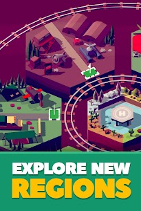 Idle Train Station Tycoon : Money Clicker Inc Mod Apk Download For Android and Iphone 7
