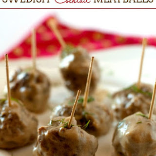 Swedish Meatball Appetizer Crock Pot Recipes