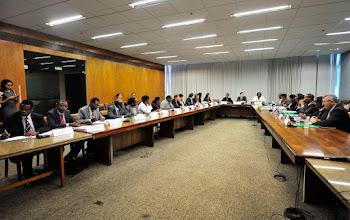 Photo: Delegacao queniana visita MP para tomar conhecimento de politicas sociais brasileiras.