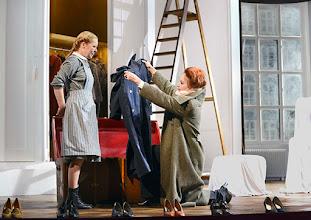 Photo: Wien/  Theater in der Josefstadt: AM ZIEL von Thomas Bernhard. Inszenierung Cesare Lievi. Premiere am 12.3.2015.  Therese Lohner, Andrea Jonasson. Foto: Barbara Zeininger