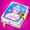 Winter Princess Diary (with lock or fingerprint) icon