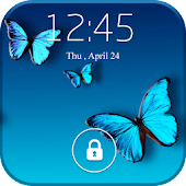 Screen Lock Butterfly