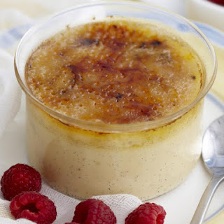 Lime and Ginger Creme Brulee