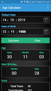 Age Calculator 1.0011 (Ad-Free)