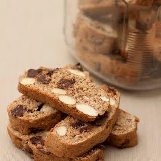 Low-Calorie Chocolate Almond Biscotti.