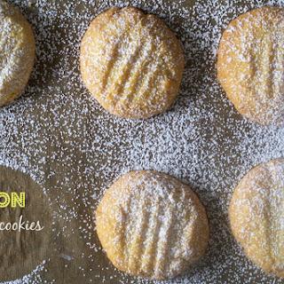 Lemon Cornmeal Cookies-Biscotti di Meliga.